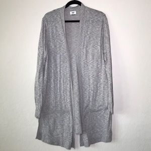OldNavy | Long Grey Cardigan